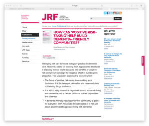 JRF screenshot