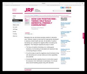 JRF screenshot