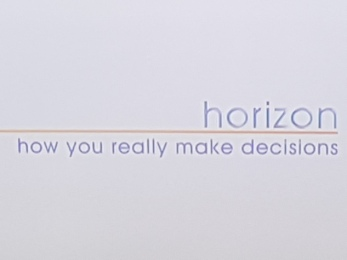 Horizon TV Doc episode