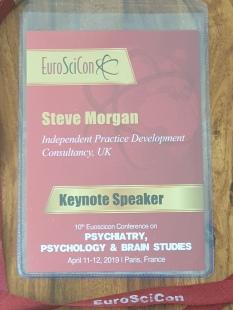 Keynote speaker recognition